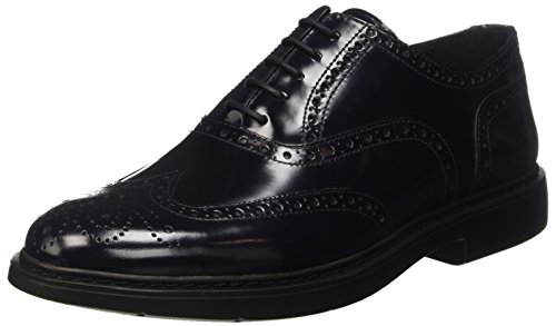 Docksteps Business, Brogue Uomo, Blu, 43 EU