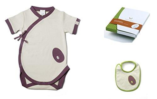 Pandi Panda 1300-008-06 Body style kimono en coton mako Taille 62/68 3-6 mois
