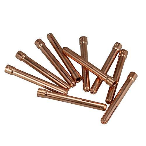 10 x Spannhülse 1,6 mm - 10N23 WIG,TIG 17/18/26 - Miller Collet