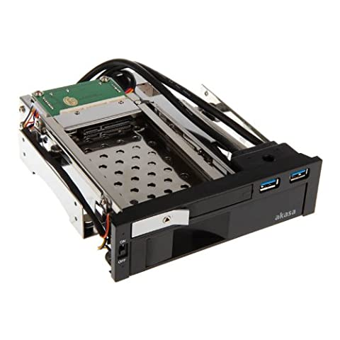 Akasa AK-IEN-01 Lokstor M51 2.5 inch and 3.5 inch HDD Combo Rack