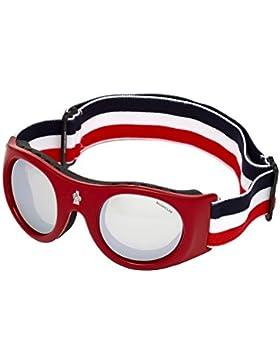 MONCLER Gafas de Esqui ML0051 RED/SILVER unisex