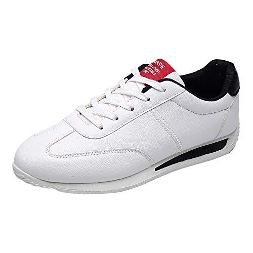 Sconto scarpe sportive da uomo,scarpe da trail running uomo uomo piatto gli sport scarpe misto colori traspirante resistente all'usura scarpe da ginnastica