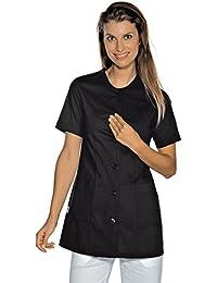Isacco-túnica médica Lampedusa, color negro