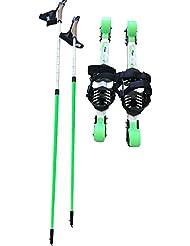 HE @ Summer Roller Equipo de entrenamiento de esquí Snow Tools (entrenamiento de verano) Adolescentes, adultos, principiantes Snowboard Road, Square, Parque con el cien por ciento ultra ligero Allo Roller Snowboard [1 juego] Snow Tools