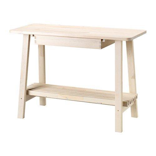 IKEA NORRAKER Sideboard aus Birkenholz; (120x50cm)