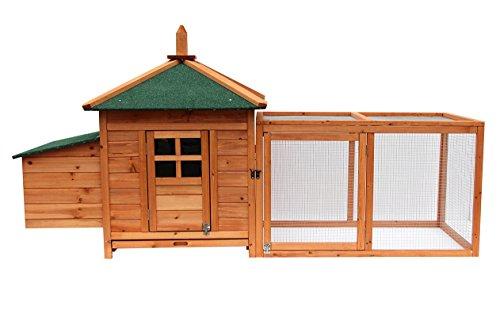 Lovupet Hühnerstall Hühnerhaus Hühnervoliere Kleintierkäfig Enten Voliere 4350 -