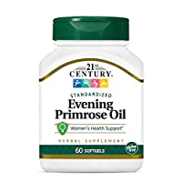 21st Century Evening Primrose Oil Womens Health Support - 60 Softgels