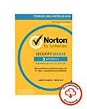 Norton Security Deluxe 2019 | 3 Appareils  | 1 an | PC/Mac/iOS/Android | Téléchargement...