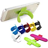 VOLTAC Universal Portable Touch U One Touch Silicone Stand For IPhone Samsung HTC Sony Mobile Phones Tablets - Color May Vary (3 Pcs) Model 430590