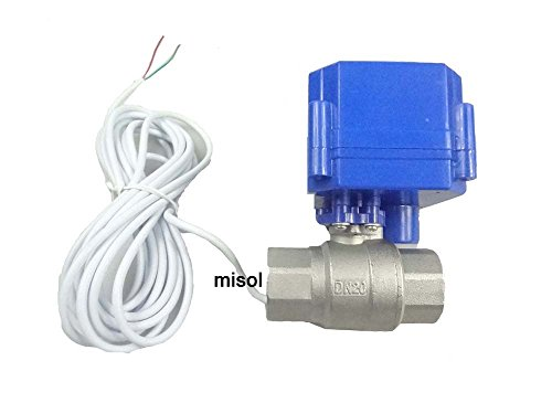 MISOL 10 pcs motorized ball valve 3/4