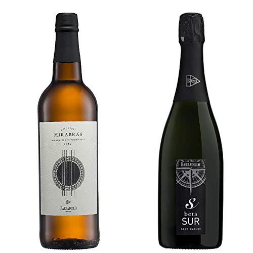 Beta Sur Y Mirabrás - Vinos De La Tierra De Cádiz - Barbadillo - 2 Botellas De 750 Ml