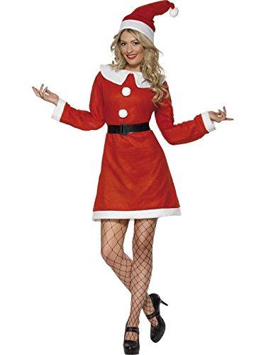 Unbekannt Weihnachtsfrau-Kostüm für Damen L