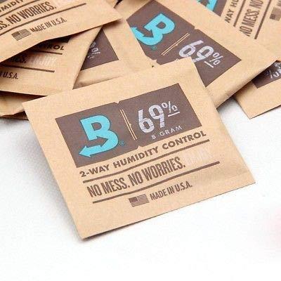 Boveda 8 Gram 69% Humidity Humidipack 2 Way Control for Cigar humidors (15 x 8 Gram Packet)