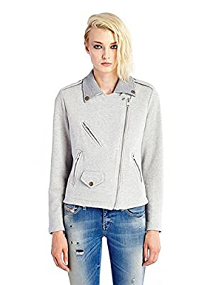 Diesel G-Lupus Giacca Heavy Women's Jacket Gray