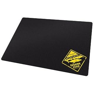 Sharkoon 1337 Tough Gaming Mauspad (mit Hartplastik-Oberfläche) schwarz
