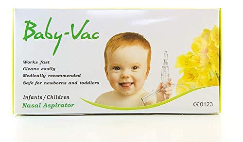 Arianna - BABYVAC Aspirador Nasal para Niños y Bebés0 a 6 años