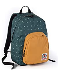 c9d6477271 ZAINO INVICTA - OLLIE PACK II - Verde Giallo fantasia - tasca porta pc  padded -