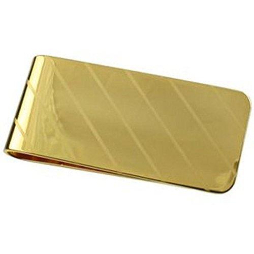 Striscia di APS Oro Clip di denaro da 55mm placcato in oro