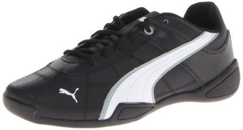 2 Leder Turnschuhe Puma B Limestone Black Jr Tune White Gray Cat XqqawT