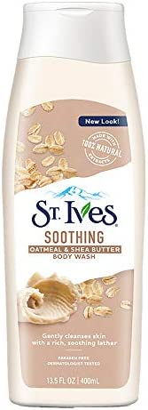 St. Ives Soothing Oatmeal & Shea Butter Body Wash, 40