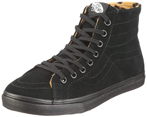 Vans Sk8-Hi D-Lo, Baskets mode mixte adulte - Noir (Black/Black),