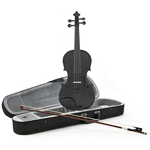VIOLIN DE ESTUDIANTE 4/4 DE GEAR4MUSIC NEGRO