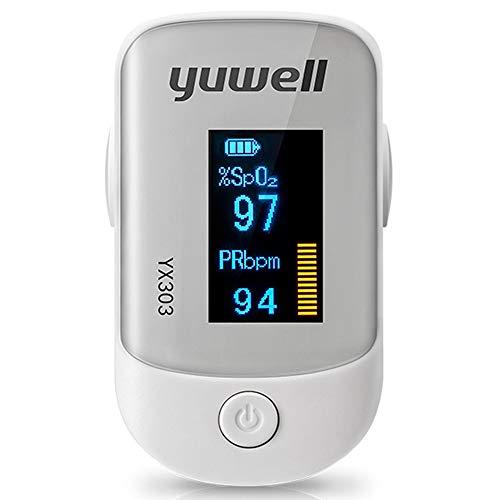 LXZSM Fingertip-Pulsoximeter, Blutsauerstoff-Sättigungs-Monitor-Oximeter-Automatische Abschaltung und Schneller Messwert Passen Für Familiengesundheitspflege mit LED-Schirm an