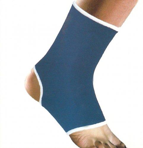 FUßBANDAGE blau Sprunggelenkbandage Knöchelstütze Sportbandage Fußgelenk Bandage