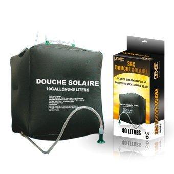 Linxor ® Bolsa ducha solar 40L camping u otro. -