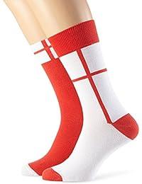 MyWay Unisex Socken Fan-Edition England, 2er Pack
