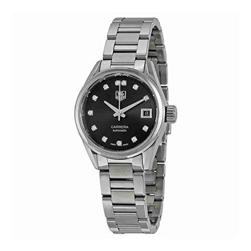 TAG Heuer Femme Carrera Calibre 9montre automatique Diamant Cadran Diamant 28mm War2413. Ba0776