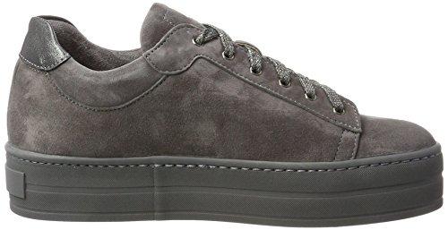 Franco Russo Napoli Damen 2804-2 Hohe Sneaker Grau (Grigio)