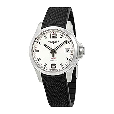 Longines Watch Conquest V.H.P. White Dial 41mm