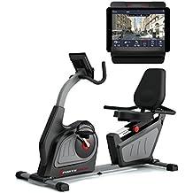 Sportstech ES600 Profi Ergometer mit APP Steuerung & integriertem Stromgenerator + Pulsgurt optional, HRC, optimaler ergonomischer Sitzkomfort - Liegeergometer Heimtrainer mit Rückenlehne
