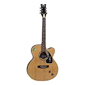 givson venus 2009 6 strings semi electric guitar right handed natural with guitar cover bag. Black Bedroom Furniture Sets. Home Design Ideas