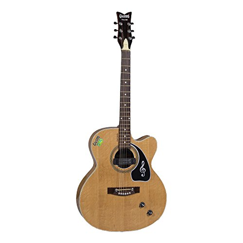 Givson Venus 2009, 6-Strings, Semi-Electric Guitar, Right Handed, Natural, With Guitar Cover/Bag  available at amazon for Rs.5400