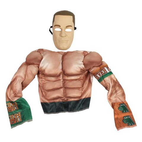 Wrestling- Disfraz básico, talla unica (Jakks 02214)