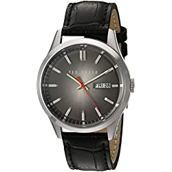 TED BAKER GENTS BLACK DIAL STRAP WATCH
