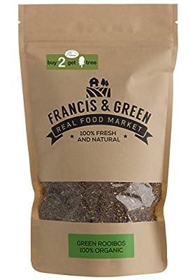 Francis & Green Rooibos Vert thé BIO sans théine en vrac, 200g