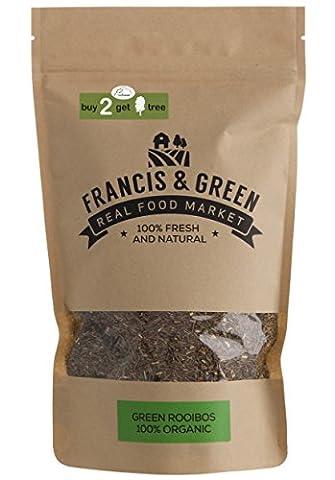 Francis & Green - Organic Green Rooibos Loose Leaf Herbal Tea, 200g