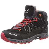 Salewa Boys' Jr Alp Trainer Mid GTX High Rise Hiking Boots