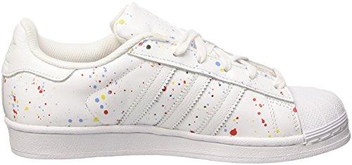 adidas Superstar, Baskets Mode Mixte Adulte Multicolore (Ftwwht/Ftwwht/Cblack)