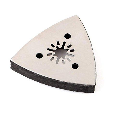 Schleifteller Dreieck schleifplatte parkside Schleifscheibe für Bosch Fein Dremel Multimaster Deltaschleifer