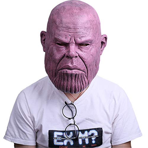 Kinder Avengers Infinity War Superheld Maske Latex Vollkopf Masken Halloween Cosplay Party Requisiten Erwachsene,A,Within62CM