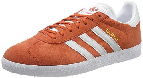 adidas Herren Gazelle Gymnastikschuhe Orange (Raw Amber/Grey One F17/Ftwr White), 44 2/3 EU