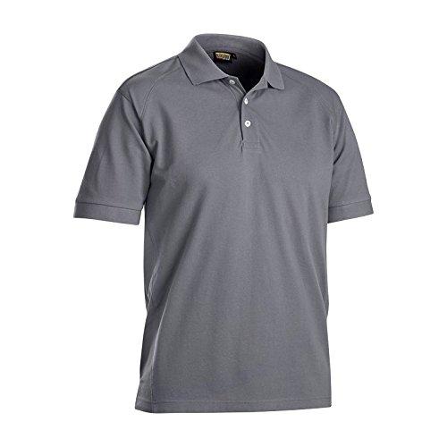 Ärmel Nackenband (Blakläder 3324105094004X L Gr. 4X Große Polo Shirt–Grau)