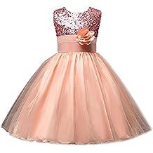 Vestido de niña, RETUROM Vestido de la princesa de la fiesta de cumpleaños de la