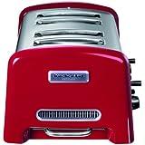 KitchenAid Artisan - Tostadora de 4 ranuras, 850 W, color rojo