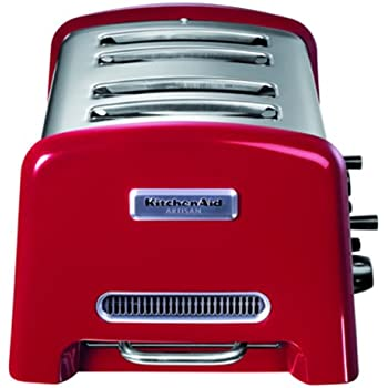 kitchenaid 5kptt890eer toaster serie artisan 4 scheiben toaster rot. Black Bedroom Furniture Sets. Home Design Ideas