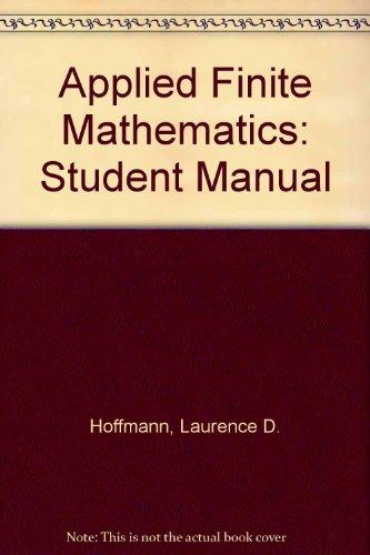 Finite Mathematics PDF Books